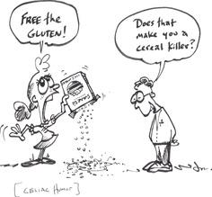 humour sans gluten