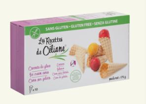 Cornets de glace sans gluten